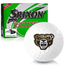 Srixon Soft Feel 12 Oakland Golden Grizzlies Golf Balls