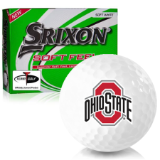 Srixon Soft Feel 12 Ohio State Buckeyes Golf Balls