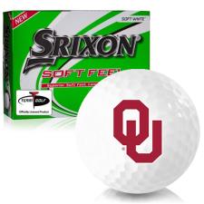 Srixon Soft Feel 12 Oklahoma Sooners Golf Balls