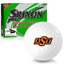 Srixon Soft Feel 12 Oklahoma State Cowboys Golf Balls