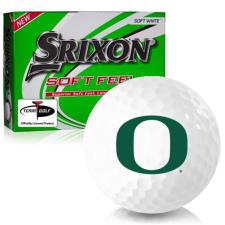 Srixon Soft Feel 12 Oregon Ducks Golf Balls
