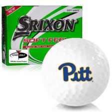 Srixon Soft Feel 12 Pittsburgh Panthers Golf Balls