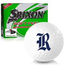 Srixon Soft Feel 12 Rice Owls Golf Balls