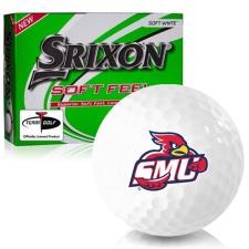 Srixon Soft Feel 12 Saint Mary's of Minnesota Cardinals Golf Balls