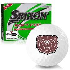 Srixon Soft Feel 12 Southwest Missouri State Bears Golf Balls