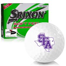 Srixon Soft Feel 12 Stephen F. Austin Lumberjacks Golf Balls