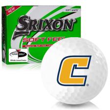 Srixon Soft Feel 12 Tennessee Chattanooga Mocs Golf Balls