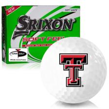 Srixon Soft Feel 12 Texas Tech Red Raiders Golf Balls