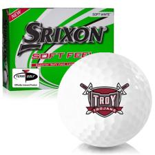 Srixon Soft Feel 12 Troy Trojans Golf Balls