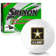 Srixon Soft Feel 12 US Army Golf Balls