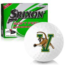 Srixon Soft Feel 12 Vermont Catamounts Golf Balls