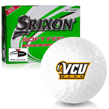 Srixon Soft Feel 12 Virginia Commonwealth Rams Golf Balls
