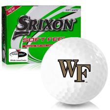 Srixon Soft Feel 12 Wake Forest Demon Deacons Golf Balls