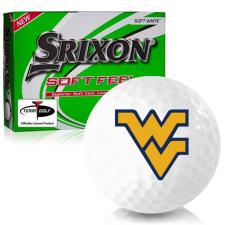 Srixon Soft Feel 12 West Virginia Mountaineers Golf Balls