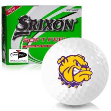 Srixon Soft Feel 12 Western Illinois Leathernecks Golf Balls