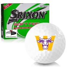 Srixon Soft Feel 12 Williams College Ephs Golf Balls