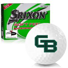 Srixon Soft Feel 12 Wisconsin Green Bay Phoenix Golf Balls