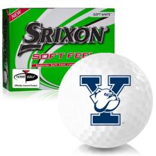 Srixon Soft Feel 12 Yale Bulldogs Golf Balls