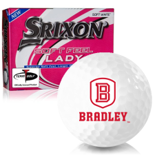 Srixon Soft Feel Lady 7 Bradley Braves Golf Balls