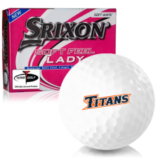 Srixon Soft Feel Lady 7 Cal State Fullerton Titans Golf Balls