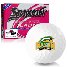 Srixon Soft Feel Lady 7 George Mason Patriots Golf Balls