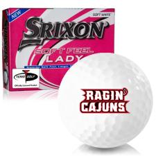 Srixon Soft Feel Lady 7 Louisiana Ragin' Cajuns Golf Balls