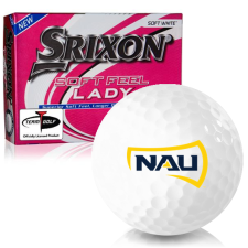 Srixon Soft Feel Lady 7 Northern Arizona Lumberjacks Golf Balls