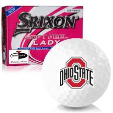 Srixon Soft Feel Lady 7 Ohio State Buckeyes Golf Balls