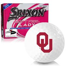 Srixon Soft Feel Lady 7 Oklahoma Sooners Golf Balls