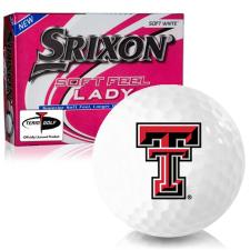 Srixon Soft Feel Lady 7 Texas Tech Red Raiders Golf Balls