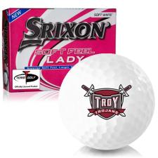 Srixon Soft Feel Lady 7 Troy Trojans Golf Balls