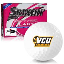 Srixon Soft Feel Lady 7 Virginia Commonwealth Rams Golf Balls