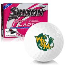Srixon Soft Feel Lady 7 William & Mary Tribe Golf Balls