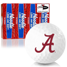 Taylor Made Noodle Long and Soft Alabama Crimson Tide Golf Balls