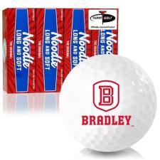 Taylor Made Noodle Long and Soft Bradley Braves Golf Balls