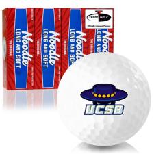 Taylor Made Noodle Long and Soft Cal Santa Barbara Gauchos Golf Balls