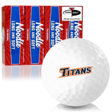 Taylor Made Noodle Long and Soft Cal State Fullerton Titans Golf Balls