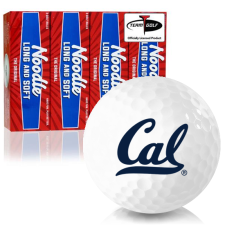 Taylor Made Noodle Long and Soft California Golden Bears Golf Balls