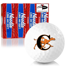 Taylor Made Noodle Long and Soft Campbell Fighting Camels Golf Balls