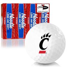 Taylor Made Noodle Long and Soft Cincinnati Bearcats Golf Balls