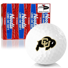 Taylor Made Noodle Long and Soft Colorado Buffaloes Golf Balls
