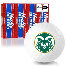 Taylor Made Noodle Long and Soft Colorado State Rams Golf Balls