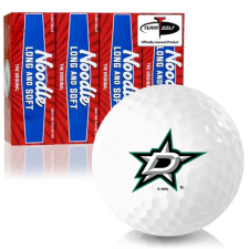Taylor Made Noodle Long and Soft Dallas Stars Golf Balls