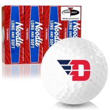 Taylor Made Noodle Long and Soft Dayton Flyers Golf Balls