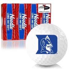 Taylor Made Noodle Long and Soft Duke Blue Devils Golf Balls