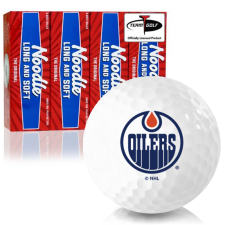 Taylor Made Noodle Long and Soft Edmonton Oilers Golf Balls