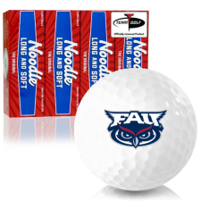 Taylor Made Noodle Long and Soft Florida Atlantic Owls Golf Balls