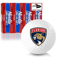 Taylor Made Noodle Long and Soft Florida Panthers Golf Balls