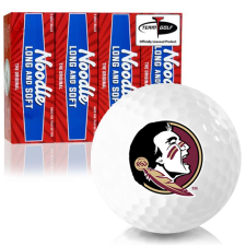 Taylor Made Noodle Long and Soft Florida State Seminoles Golf Balls