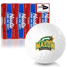 Taylor Made Noodle Long and Soft George Mason Patriots Golf Balls